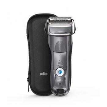 Braun brijač Series 7-7855 Wet & Dry, siv
