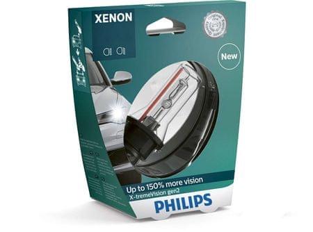 Philips žarnica Xenon D1S X-treme Vision gen2