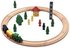 Maxim Zestaw kolejowy 23 elementy