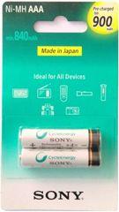 Sony punjiva baterija AAA, 2 komada, 900mAh