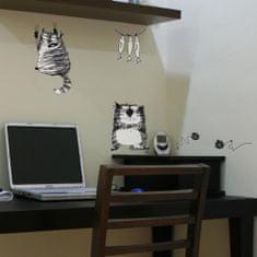 Crearreda zidna naljepnica nacrtani mačići S