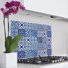 Crearreda kuhinjski panel Plavi uzorak