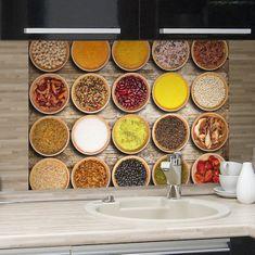 Crearreda kuhinjski panel Začini