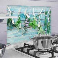 Crearreda kuhinjski panel Začinsko bilje