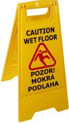Westside Tabuľa Pozor mokrá podlaha