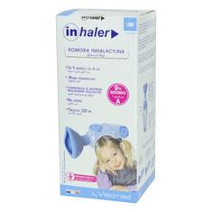 Visiomed komora inhalacyjna Inhaler z maską - 9m do 6 lat