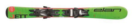 Elan smuči za alpsko smučanje Ela Jett QS EL4.5 AF2BMV16, 70 cm, zelena