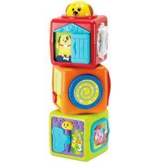 Smily Play Wieża z klocków 0613A