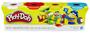 1 - Play-Doh Zestaw 4 tub ciastoliny B5517