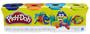 2 - Play-Doh Zestaw 4 tub ciastoliny B5517