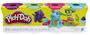 3 - Play-Doh Zestaw 4 tub ciastoliny B5517