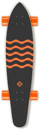 """Street Surfing Longboard Kicktail 36"""" Blown Out"""