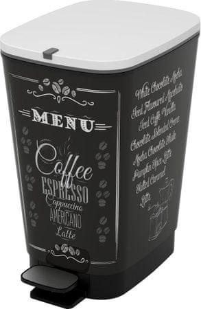 Kis Kosz Chic Bin 35 l Coffee Menu