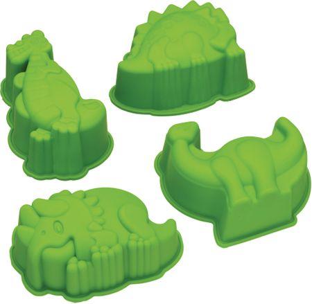 Kitchen Craft Silikónové formy Dinosaury