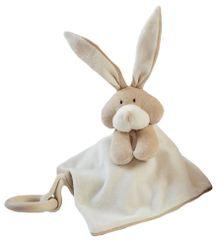 Wooly organic Usínáček s hryzátkom Bunny