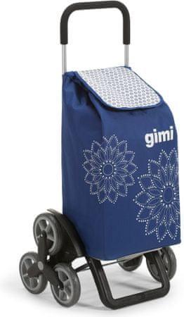 Gimi Tris Floral Bevásárlótáska, Kék