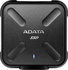 Adata ASD700 512GB SSD USB 3.0 Black (ASD700-512GU3-CBK) - zánovní