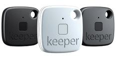 Gigaset Lokalizačný čip Keeper, 3 kusy, 2 x čierny + 1 x biely