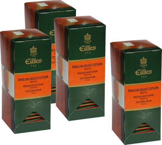 Eilles Tea English Select Ceylon 4x 25 sáčků