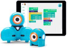 Wonder Workshop roboti Dash a Dot spříslušenstvím