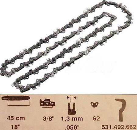 """Dolmar Fűrészlánc, 45 cm, 3/8"""", 1,3 mm (531492662)"""