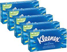 Kleenex Original Papír zsebkendők Box 5 x 70 db