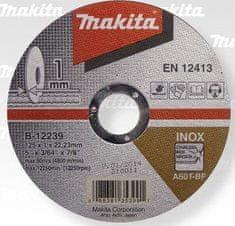Makita tarcza tnąca 125x1x22,23 mm (B-12239)