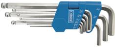 Narex 9-dielna sada kľúčov 1/16'-3/8' (43000343)