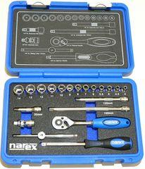 "Narex zestaw nasadek 1/4"", 20 elementów (443000903)"