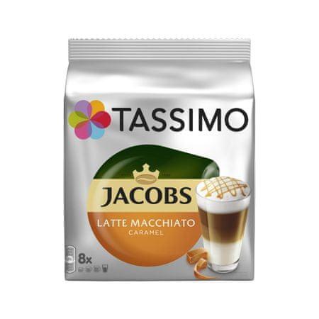 Jacobs T-Disc Latte Macchiato Caramel Kávékapszula, 2 x 8 db