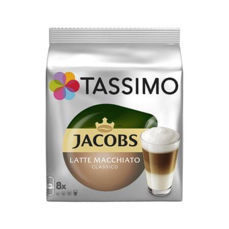 Jacobs T-Disc Latte Macchiato Kávékapszula, 2 x 8 db