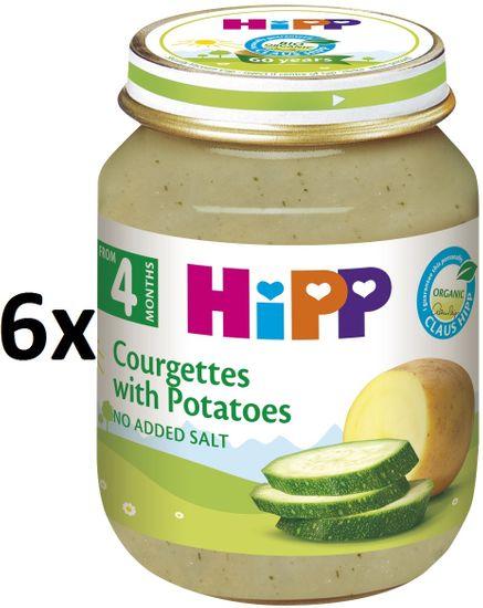 HiPP BIO Cuketa s bramborami - 6 x 125g