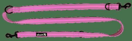 Alcott Állítható hosszúságú póráz, Rózsaszín, M