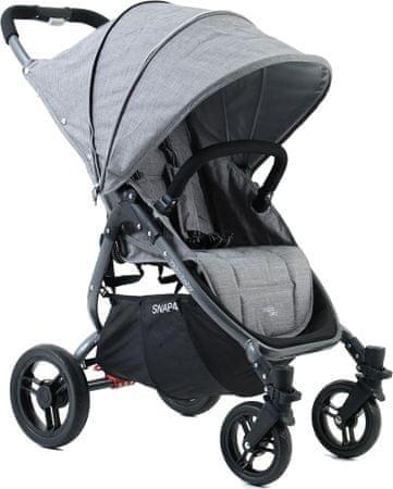 VALCO Snap 4 Tailormade otroški voziček, siv