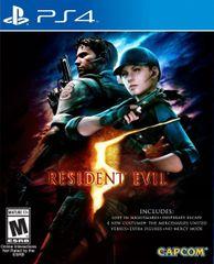 Capcom igra Resident Evil 5 (PS4)