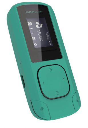 Energy Sistem odtwarzacz MP3 Clip, Mint