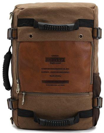 Kaukko ruksak Retro Travel, smeđi