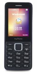 myPhone telefon komórkowy 6310, czarny