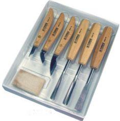 Narex zestaw dłut i noży rzeźbiarskich standard - 6 elementów (894610)(894610)