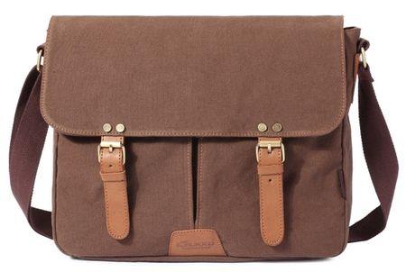 Kaukko torba Fancy Geek, smeđa