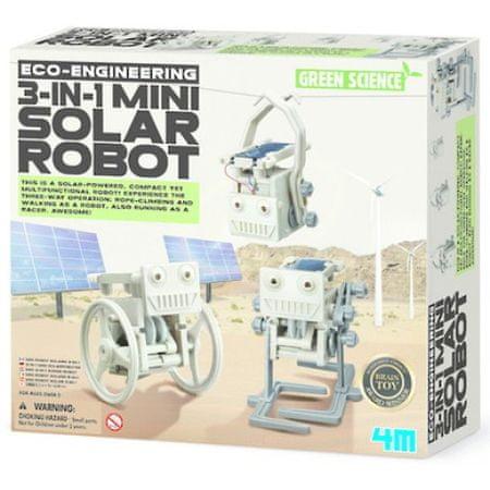 4M Mini solarni robot 3 v 1