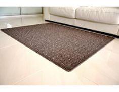 Vopi Kusový koberec Udinese hnědý 80x150 cm