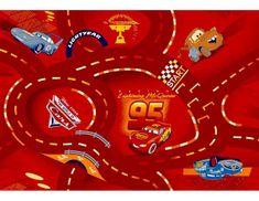 Vopi Dětský koberec The Wolrd of Cars 10, 140x200 cm
