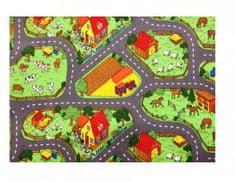 Vopi Dětský koberec Farma II., 200x200 cm