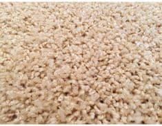 Vopi Kusový koberec Color Shaggy béžový, průměr 160 cm