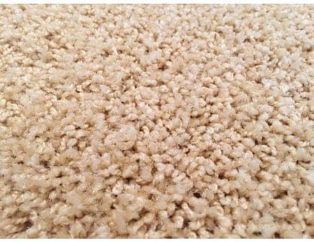 Vopi Kusový koberec Color Shaggy béžový, průměr 120 cm