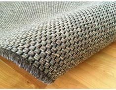 Vopi Kusový tmavě béžový koberec Nature 140x200 cm