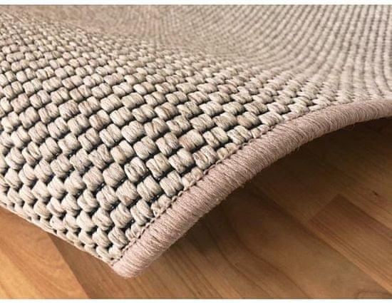 Vopi Kusový světle béžový koberec Nature 120x170 cm