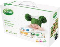 SMILE kuferek z chusteczkami SMILE
