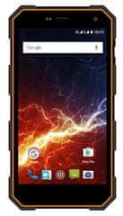 myPhone HAMMER ENERGY, 2GB/16GB, oranžovo-černý